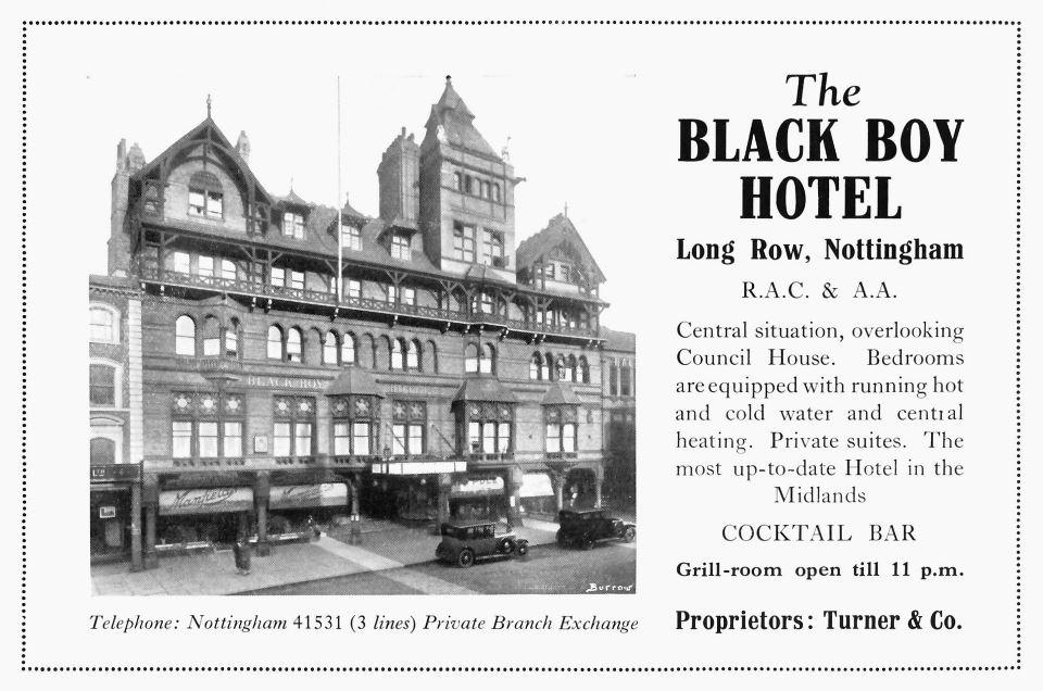 black boy 1930s advert copy