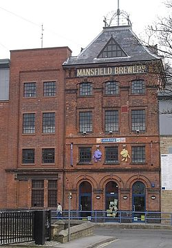 Mansfield Brewery Building 2004